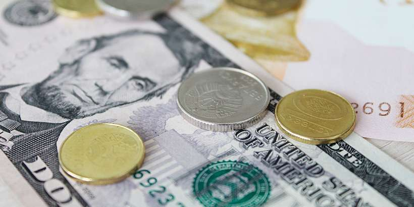 Курсы валют на 13 июля: курс доллара – 1.9726, курс евро – 2.2514, 100 российских рублей – 3.2783